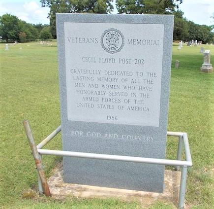 Veterans Memorial - Elmore City, OK