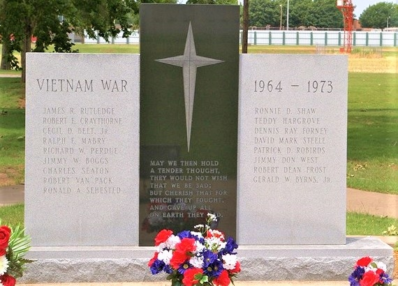 Vietnam War Memorial - Duncan, Oklahoma