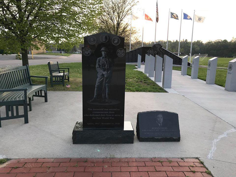 Belding Veteran's Park / Freedom Wall