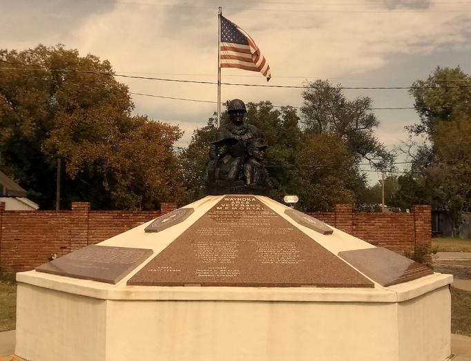 Waynoka Area Veterans Memorial, Waynoka, Oklahoma