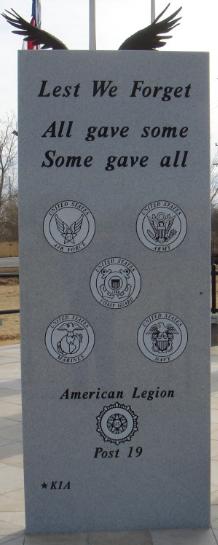 Woodward County Veterans Memorial, Woodward, Oklahoma