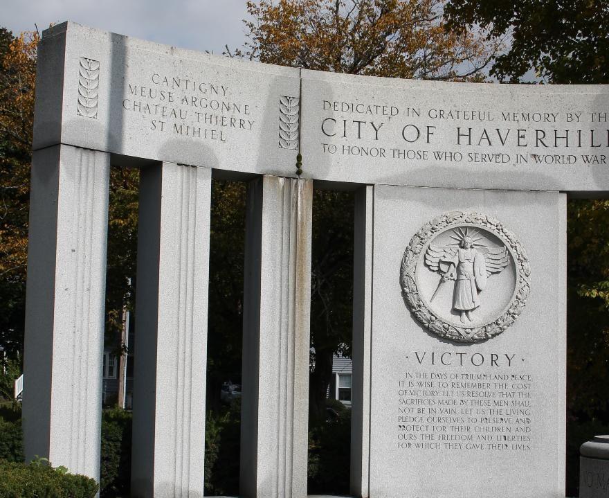 World War I Monument, Haverhill, Massachusetts