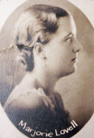 Marjorie Lovell McBride Memorial Stone