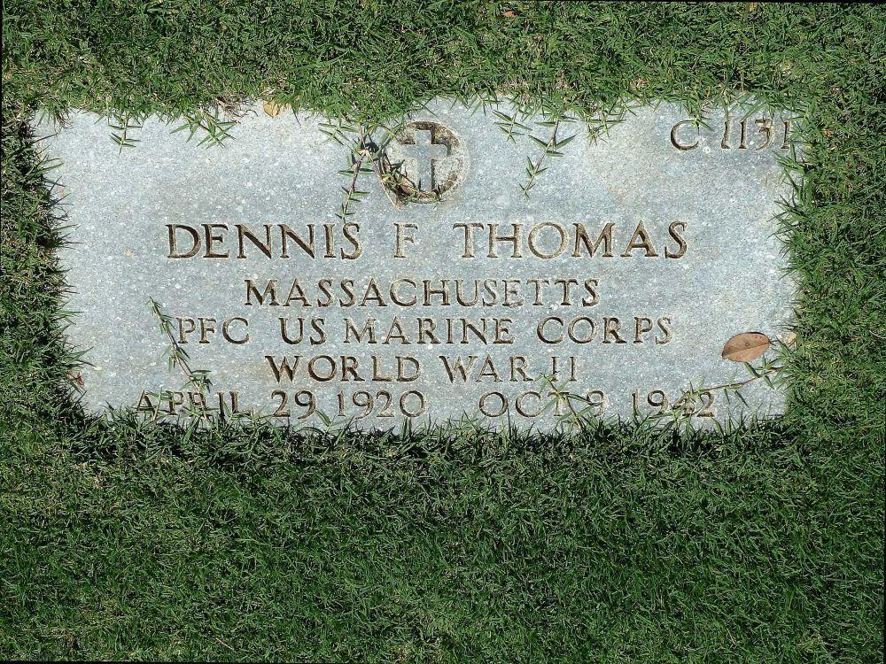 Dennis Francis Thomas Memorial Stone