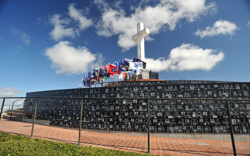 Mt Soledad National Veterans Memorial, La Jolla, California