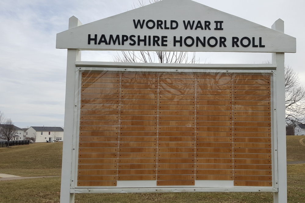 World War II Hampshire Memorial