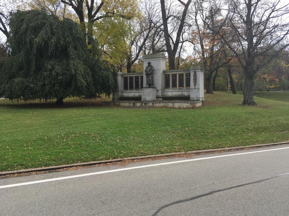 Colonel Alexander Leroy Hawkins Memorial