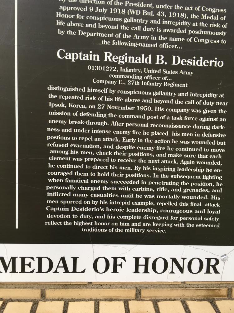 Desiderio Memorial Park