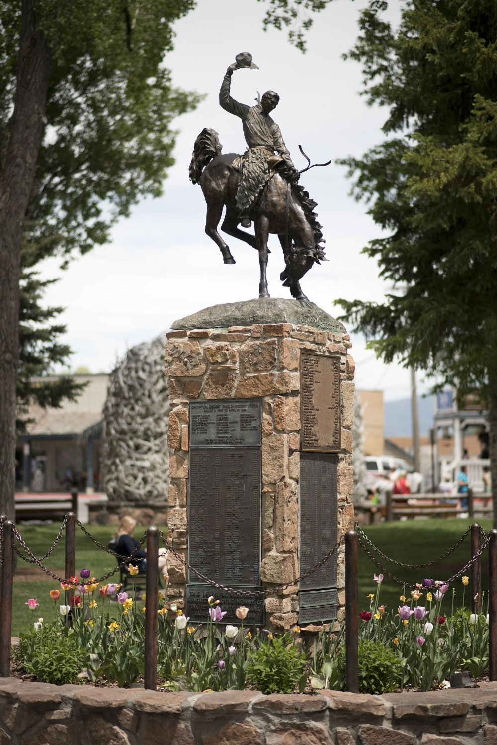 Town Square Veterans Monument