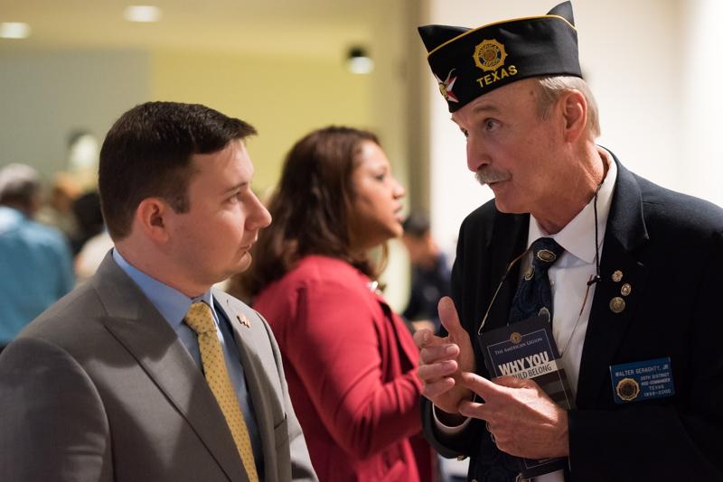 Legion, Chamber put veterans to work