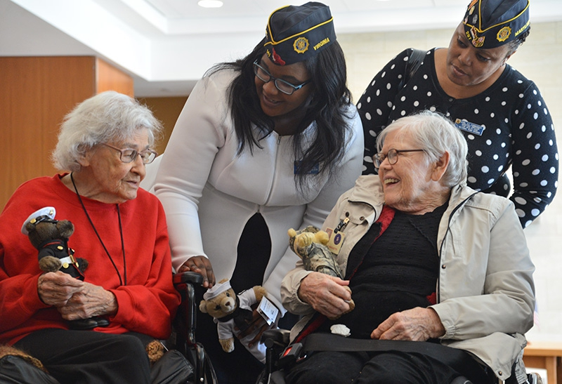 What are some retirement homes for armed forces veterans?