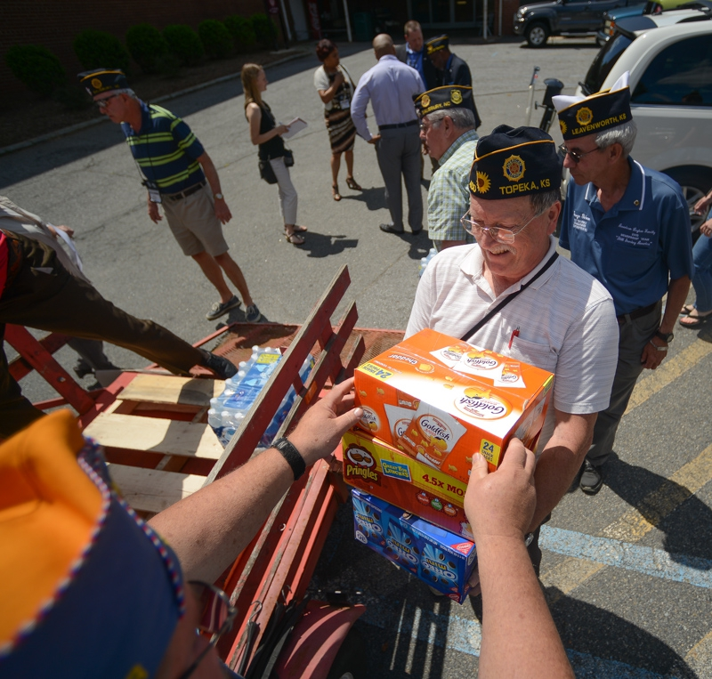 OCW donates $10,000 worth of supplies and gift cards to Salisbury, N.C. VA