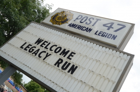 Legacy Run 2011: Day One - Indianapolis to Mt. Pleasant, Mich.