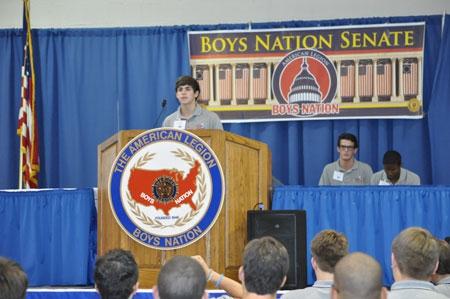 Boys Nation - Day 5 - July 24, 2012