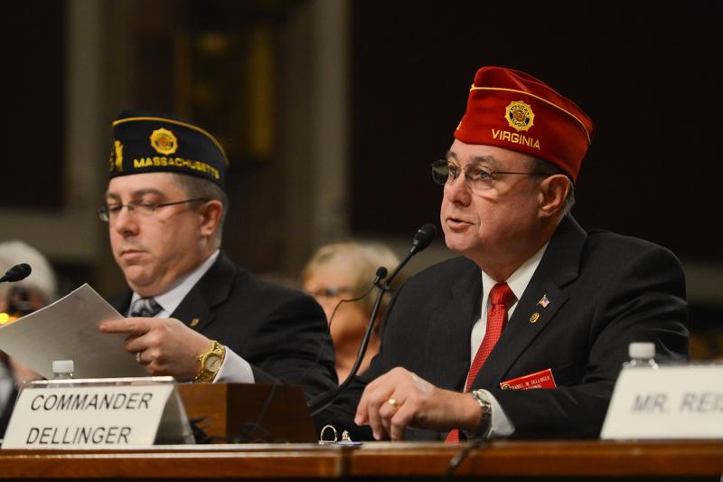 National Commander Daniel M. Dellinger's Testimony