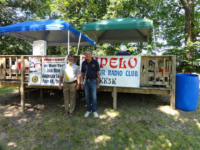 Tupelo Post 49 at Field Day