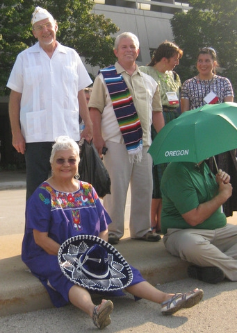 Department of Mexico at 2010 Milwaukee National Convention (pt. 1)