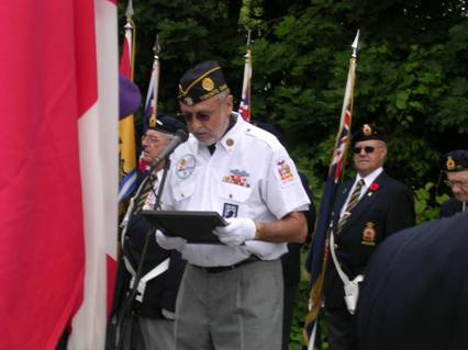 Battle of Stoney Creek ceremony - Ontario, Canada