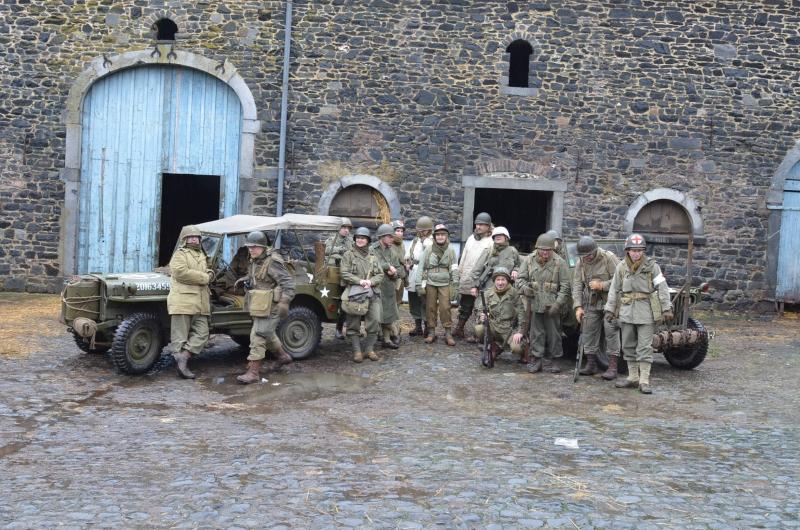 Department of France Battle of the Bulge Bastogne walk
