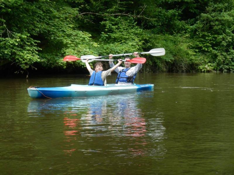 Brussels American School Troop 457 goes kayaking