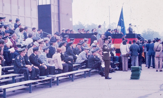 1977 Memorial Day ceremony, Ramstein Air Base, Germany