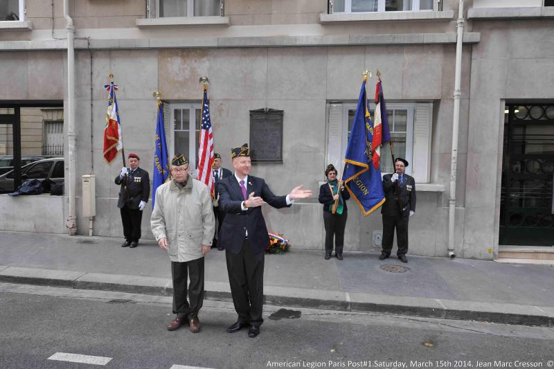Paris Post 1 honors Founders Day