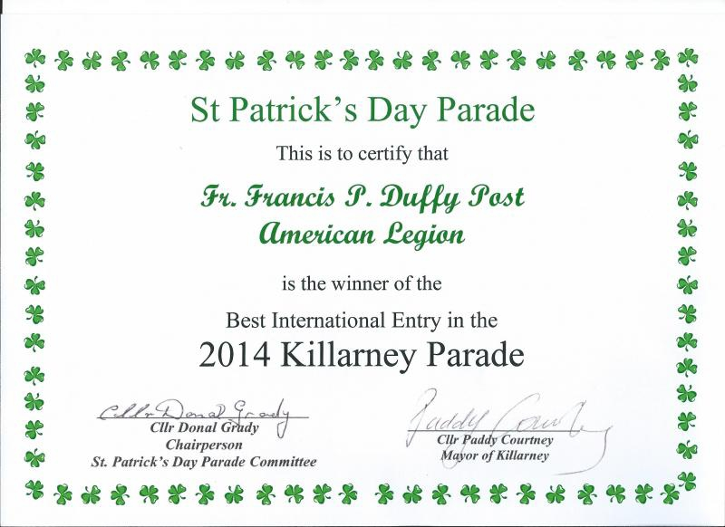 2014 Killarney St. Patrick's Day Parade
