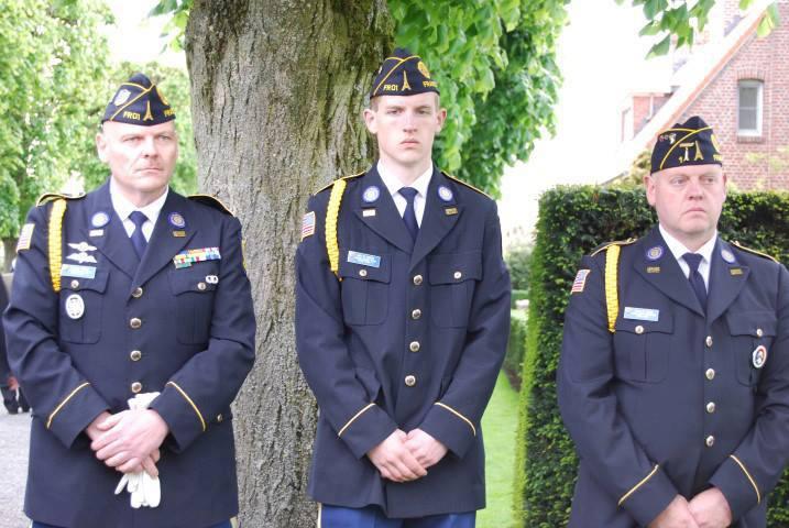 2013 Memorial Day ceremonies, Waregem and Bastogne