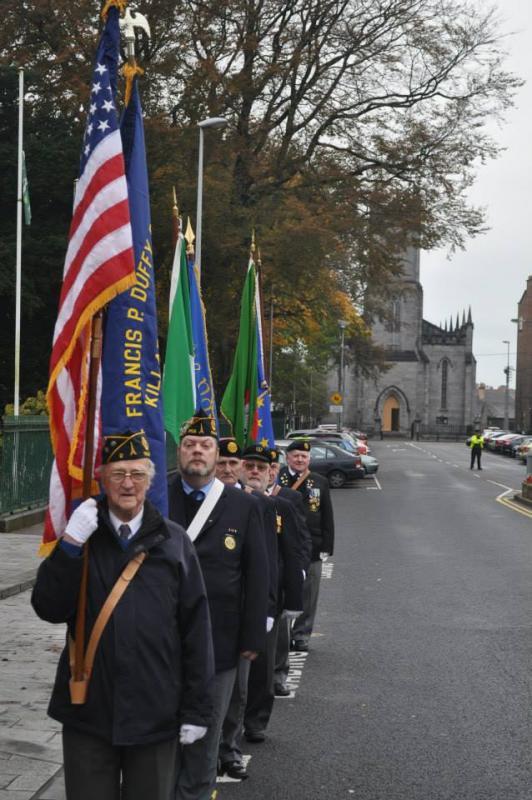 2013 Armistice Day ceremonies, Father Francis P. Duffy Post IR02