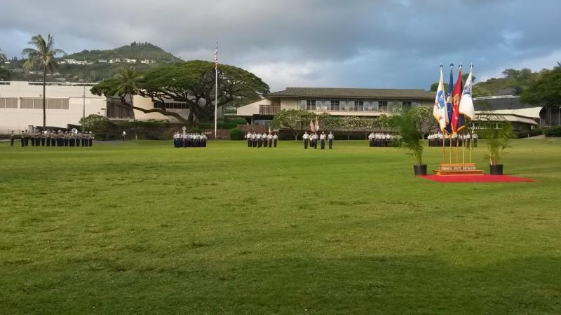 Hawaii post gives out high school awards