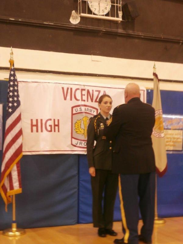 2014 Jr. ROTC Awards ceremony - Vicenza