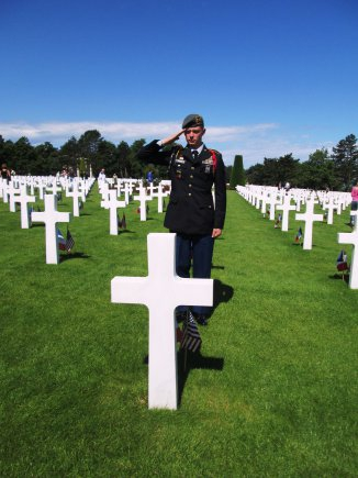 Cadets visit Normandy on 70th D-Day anniversary