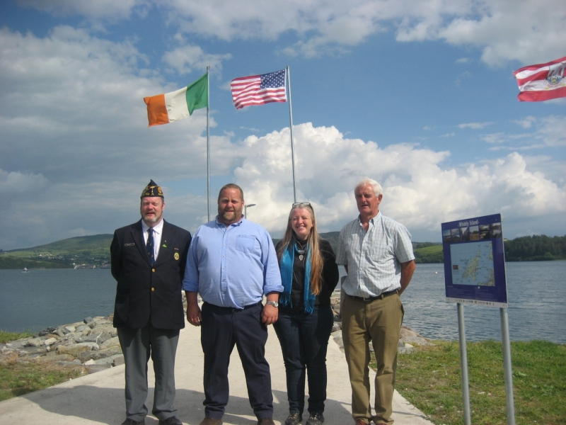 Whiddy Island, Cork, commemoration ceremony