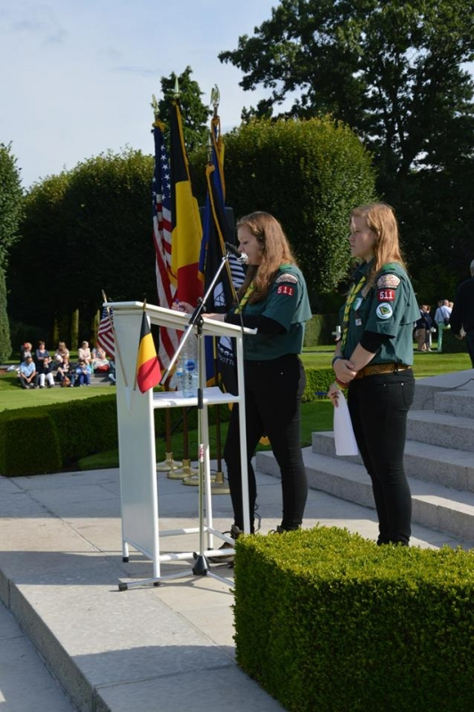 Flanders Field Adopt-a-Grave ceremony (2)