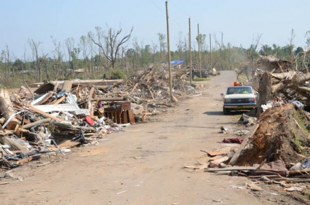 NEF funds assist devastated Alabama tornado victims