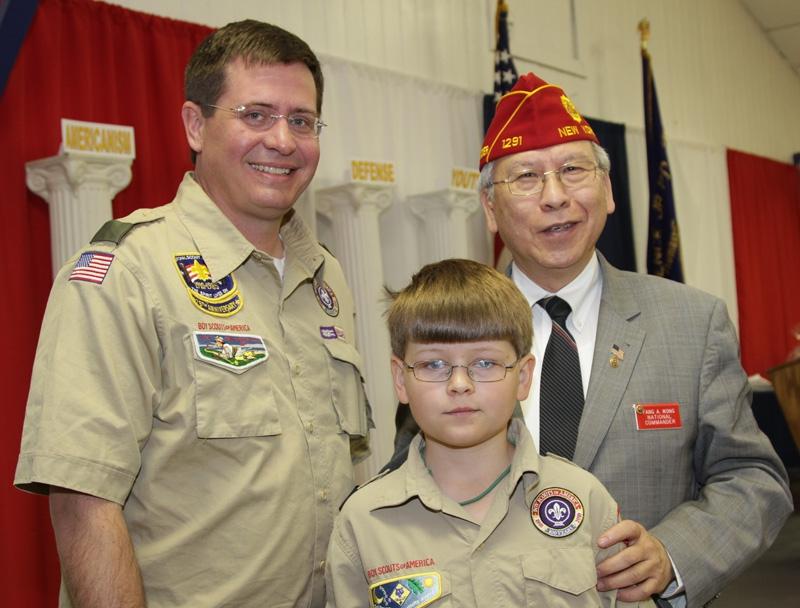 Commander Wong visits Georgia