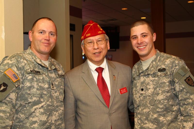 Commander Wong visits Minnesota