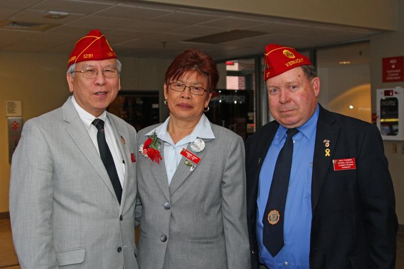 Commander Wong visits Vermont