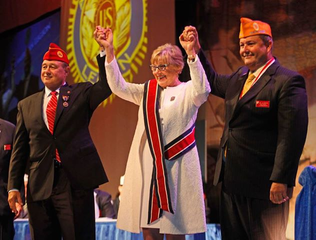 New 2013-2014 National  Commander Joseph W. Gladden