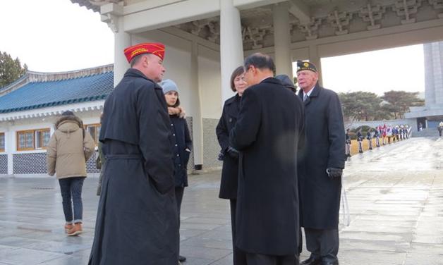 2013 Visit Far East (Korea), November 25-29