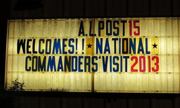 2013 Visit TAL Dept of Kansas, October 21-23