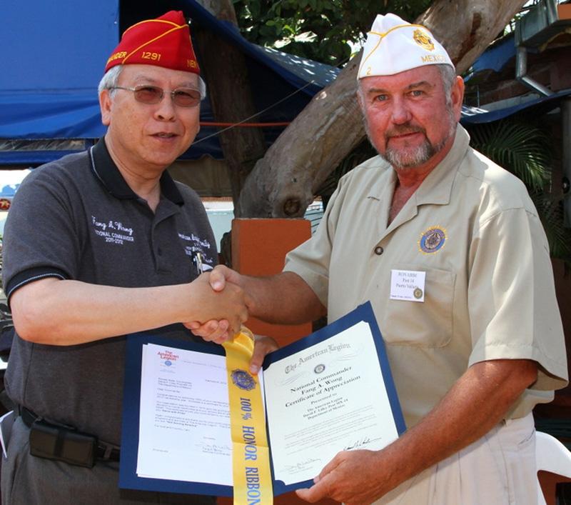 Commander Wong Visits Mexico
