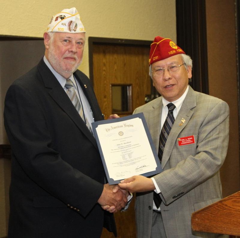 Commander Wong Visits Oklahoma