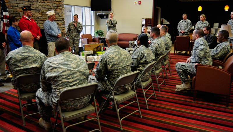 OCW Visits to Ft. Campbell and Ft. Knox