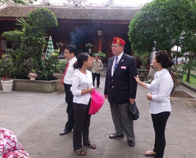 Visit to Vietnam