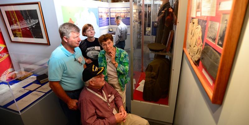 USS Indianapolis survivors reunion