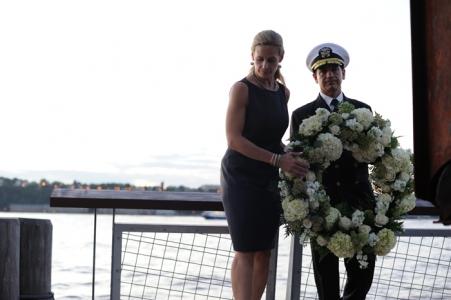 Intrepid 9/11 Memorial Sunset Ceremony