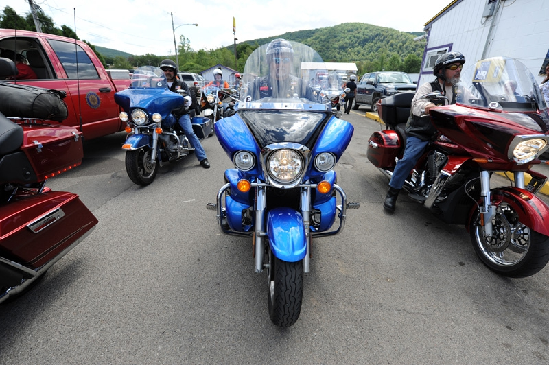 2012 National Commander's Ride: Day 1