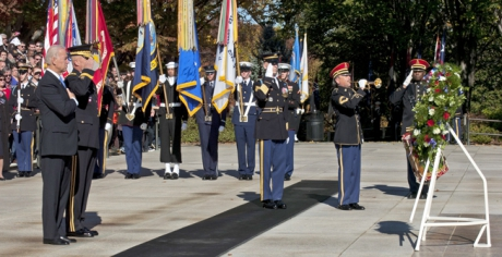 Ceremonies at Arlington National Cemetery