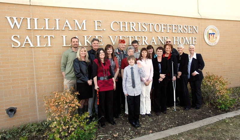 Salt Lake City Veterans Home Rededication